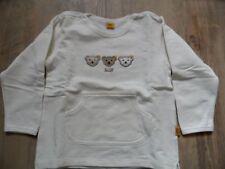 STEIFF schönes Winter Langarmshirt creme Gr. 80 w. NEU ST817