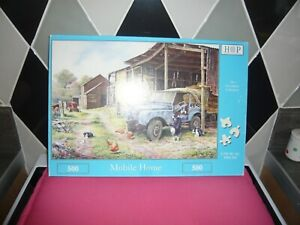 500 piece jigsaw puzzle hop mobile home
