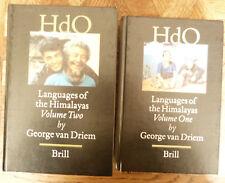 GEORGE VAN DRIEM LANGUAGES OF THE HIMALAYAS 2 volume  BRILL ED  2001