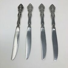 Michelangelo By Oneida 18/10 Flatware Stainless  Lot Set Of 4 Dinner Knives 9""