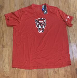 adidas Men's NC State Wolfpack Pixel Logo Creator Shirt NWT 2XL