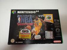 Kobe Bryant in NBA COURTSIDE Nintendo 64 Versione Europea PAL NUOVO