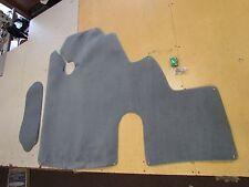 TRACKER AVALANCHE II SEAT PEDESTAL CARPET SET (2) GREY MARINE BOAT