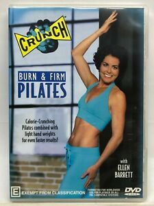 Crunch - Burn & Firm Pilates - DVD - AusPost with Tracking
