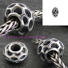 TROLLBEADS Argento STOPPER/Spacer Alveare/BEEHIVE-tagbe - 20147