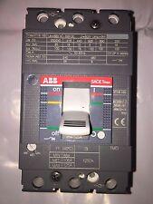 ABB SACE Breaker Switch Tmax XT1B 160 Amperage Rating 125 Poles 3 240/480