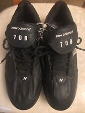 New Balance Cleats Mens Sports Black Sneakers Shoes 11.5 Football Team