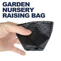 100 pc Plant Flower Pots Outdoor Living Garden Nursery Raising Bag