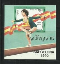 CAMBOYA. Año: 1992. Tema: OLIMPIADAS DE BARCELONA-1992.