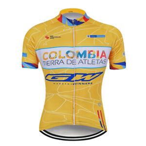 Men's Cycling Jerseys Bibs Shorts Kits 2021 Short Sleeve Riding Shirt Shorts Set