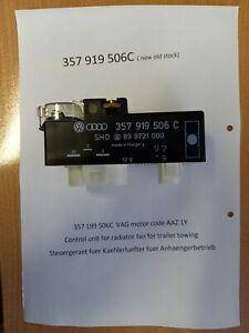 357919506C (NEW) Control unit for radiator fan VW Golf Passat Steuergeraet