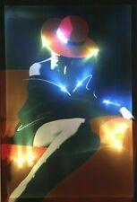 LED Bild Leuchtbild LED Bilder Wandbild / Lady Red / Women / Wandleuchte