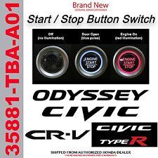 Genuine OEM Honda Push Button Starter Switch 2016-2018 Start/ Stop 35881-TBA-A01