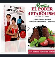 """EL PODER DEL METABOLISMO+RECETAS """"""""""""FRANK SUAREZ!!LIBRO EN DIGITAL ENVIO ONLINE"""