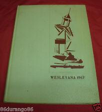 ILLINOIS WESLEYAN UNIVERSITY 1967 YEARBOOK BLOOMINGTON ILLINOIS