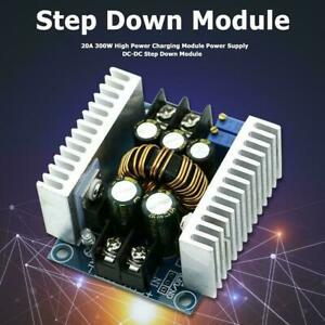 DC-DC-Wandler 20A 300W  Step down Boost Power Adjustable Charger R5T4