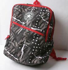 Converse Diagonal Zip Backpack (American Glitch) Red