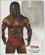 Orlando Jordan Officially Licensed TNA Wrestling Promo Photo