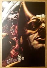 Wolverine vs Deadpool X-Men Origins Marvel Comic Poster by Simone Bianchi