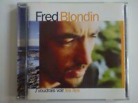 FRED BLONDIN ♦ 1er CD J'VOUDRAIS VOIR LES ILES ♦ de Gainsbourg CharlElie Couture