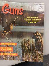 Vintage Guns Magazine Oct 1962 The Guns Of Death Valley Part 1