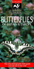 Butterflies of Britain & Europe (Collins Wildlife Trusts Guide)-ExLibrary