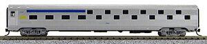 N Budd Passenger Slumber Coach Car Via Rail (Silver/Blue/Yellow) (1-41313)