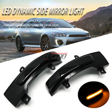 Dynamic Side Mirror Sequential Light For Mitsubishi Lancer 2017- 2021 Outlander