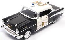 Chevrolet Bel Air Hardtop 1957 Police 1:18 Model LUCKY DIE CAST