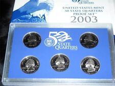 2003 S US Mint 50 State Quarters Proof Set