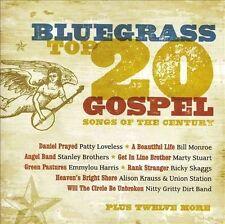 NEW Bluegrass Top 20 Gospel Songs of the Century (Audio CD)