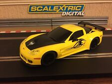 Scalextric Digital Corvette C6R / Working Front & Rear Lights Brand New