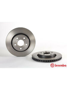2 x Brembo Brake Rotor FOR JEEP GRAND CHEROKEE WK (09.A031.11)