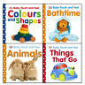 DK Baby Touch and Feel Collection 4 Books Set Animals Things That Go Bathtime