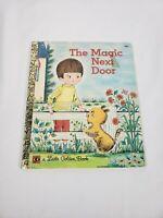 The Magic Next Door, A Little Golden Book,1973(VINTAGE Children's Hardcover)