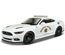 Maisto 1:24 2015 Ford Mustang GT Diecast Metal Model Police Car new in box