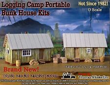 Logging Camp Portable Bunk House Kits Thomas Yorke/Scale Model Masterpieces On30