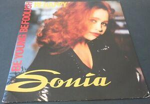 "SONIA Be Young Be Foolish Be Happy (Ext Club Mix) 12"" Vinyl single 1991 I.Q."