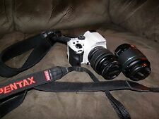 Pentax K 16.3 MP Digital SLR Camera - White