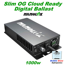 NANOLUX OG 1000W SLIM CLOUD READY HPS+MH DIGITAL BALLAST DIMABLE & SWITCHABLE