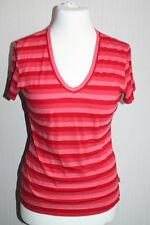 T-Shirt von Street One,gr.44 Rot gestreift