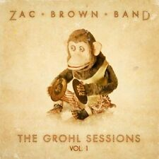 ZAC BROWN BAND THE GROHL SESSIONS VOL 1 CD NEW SEALED FOO FIGHTERS FREE UK POST