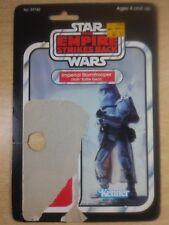 vintage card back Snowtrooper star wars empire strikes back Kenner 1980