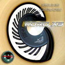KORG X3/X3R HUGE Original Factory & New Created Sound Library/Editors on CD