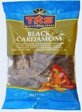 Cardamom Pods - Black - 50g Bag - TRS Brand