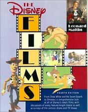 The Disney Films by Leonard Maltin (2000, Paperback, Revised)