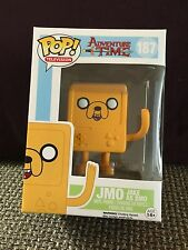 FUNKO POP TELEVISION ADVENTURE TIME JMO JAKE AS BMO #187 TARGET EXCLUSIVE MINT