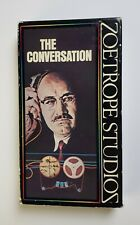 The Conversation Vhs Zoetrope 1992 Thriller Francis Ford Coppola Htf