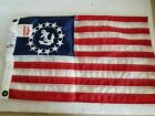 Dura-Lite 12x18in 13 Star Fouled Anchor Flag Ensign Boat Yacht Maritime Nylon