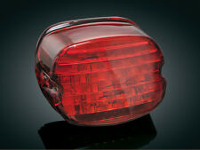 Kuryakyn 5437 L.E.D. Taillight Low Profile w/out License Plate Window (Red) H-D